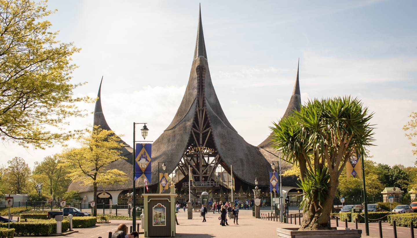 Holanda - Entrance to De Efteling, Netherlands