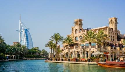 Dubai - Water oasis on site Madinat Jumeirah Mina A Salam