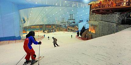 Dubai - Top 5 indoor ski slopes 01
