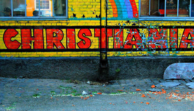 Dinamarca - christiana end denmark's free town