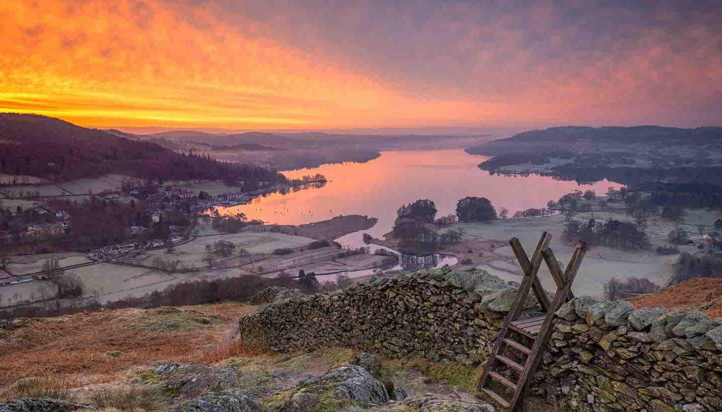 Inglaterra - Windermere in the Lake District
