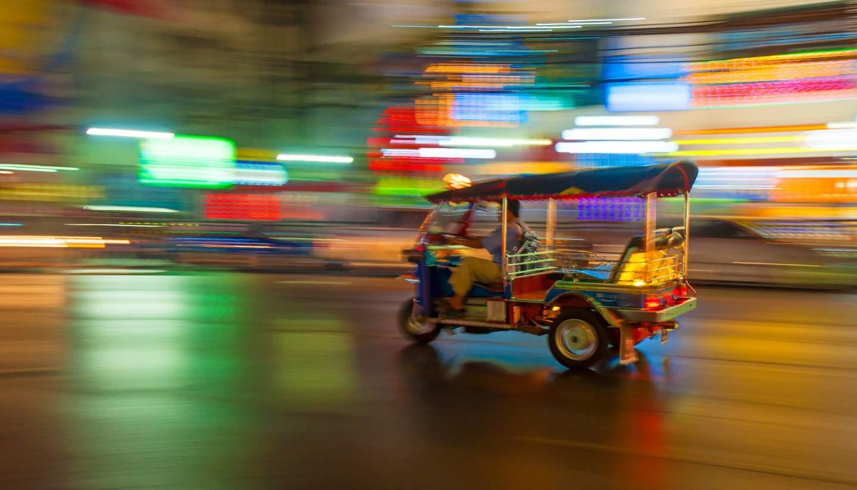 Tailandia - Tuktuk, Bangkok, Thailand
