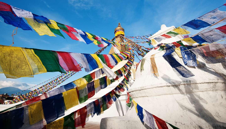 Nepal - A stupa in Nepal