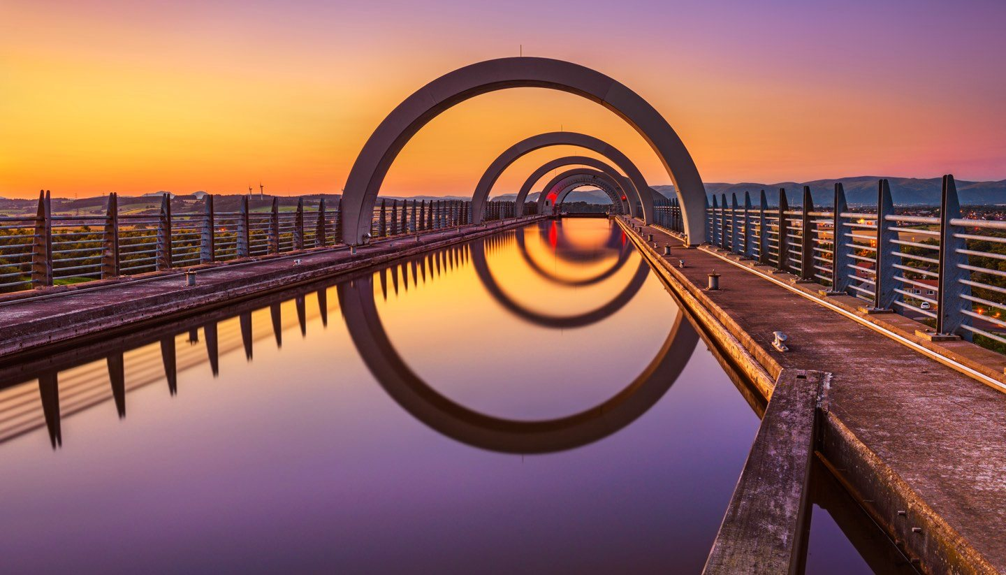 Escocia - Falkirk Wheel, Scotland
