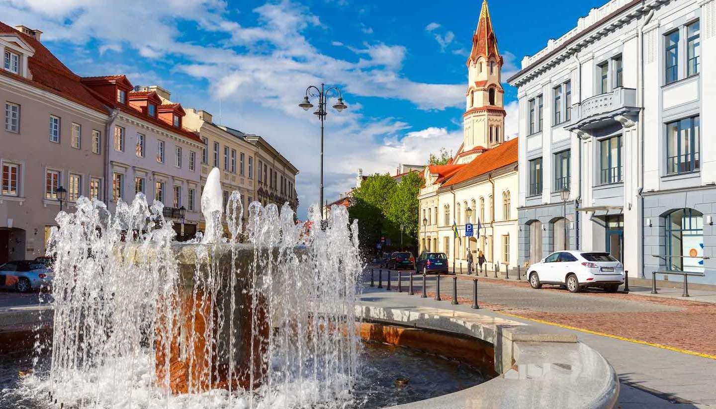 Lituania - Old town Vilnius, Lithuania