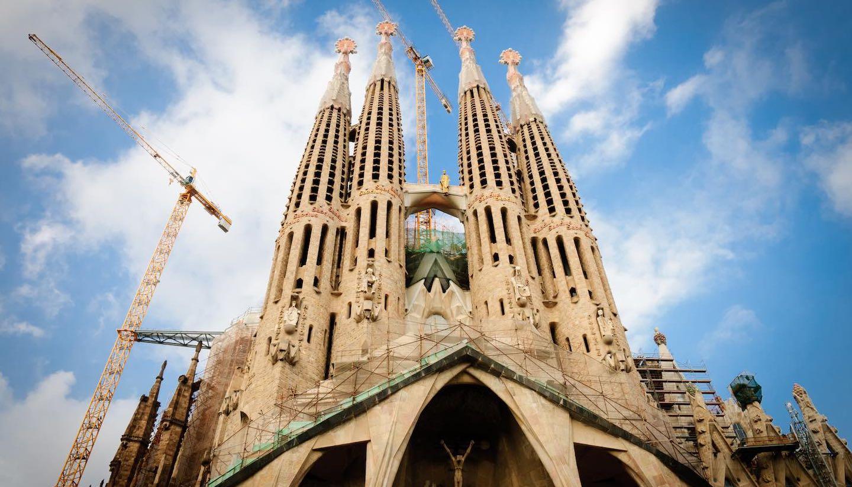 Barcelona - Cathedral Sagrada Familia, Barcelona, Spain