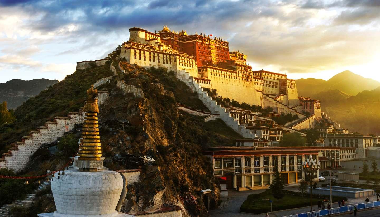 Tibet - Potala Palace, Tibet