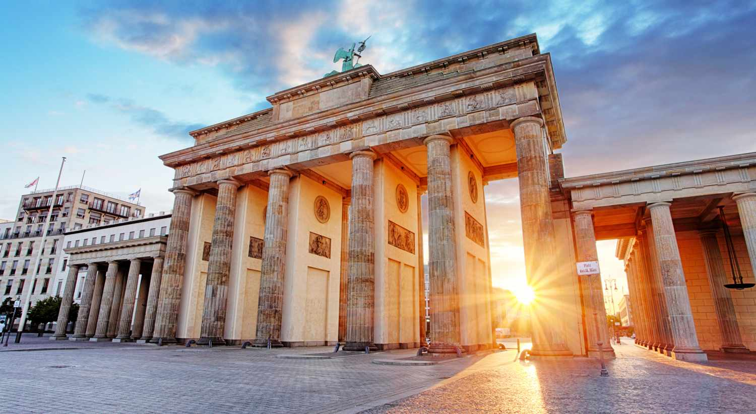 Alemania - Bradenburg Gate, Berlin, Germany