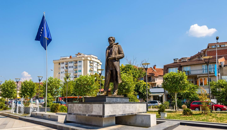 Kosovo - Ibrahim Rugova status, Pristina, Kosovo