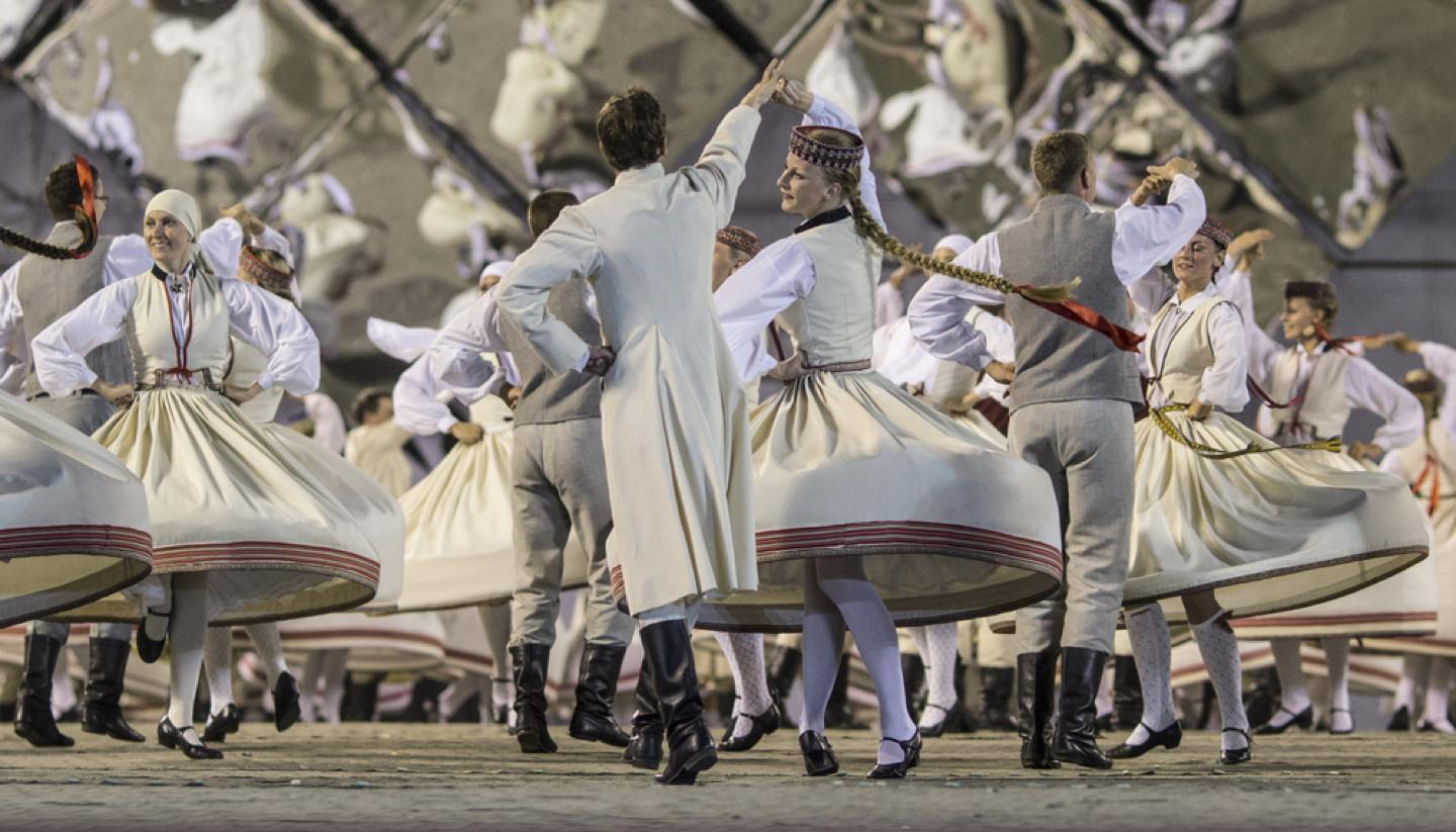 Letonia - Latvian Song and Dance Festival