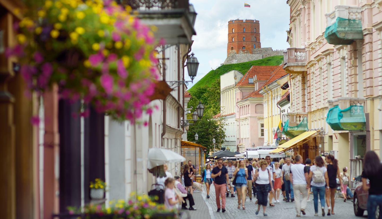 Lituania - Old Town, Vilnius, Lithuania