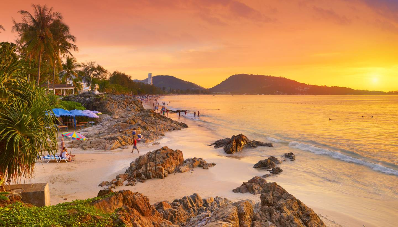 Tailandia - Patong Beach, Phuket, Thailand