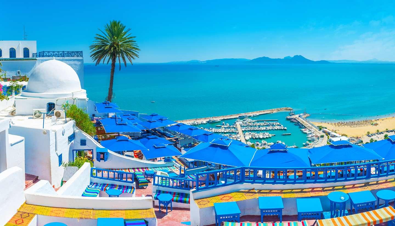 Túnez - Sidi Bou Said, Tunisia