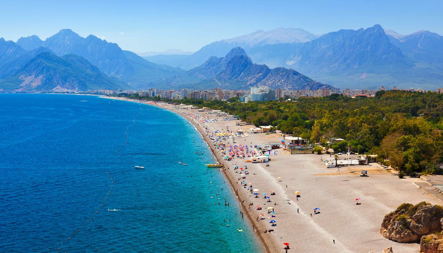 Turquía - Antalya Beach, Turkey
