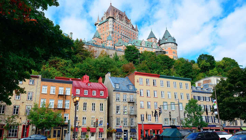 Ciudad de Quebec - Chateau Frontenac Quebec, Canada
