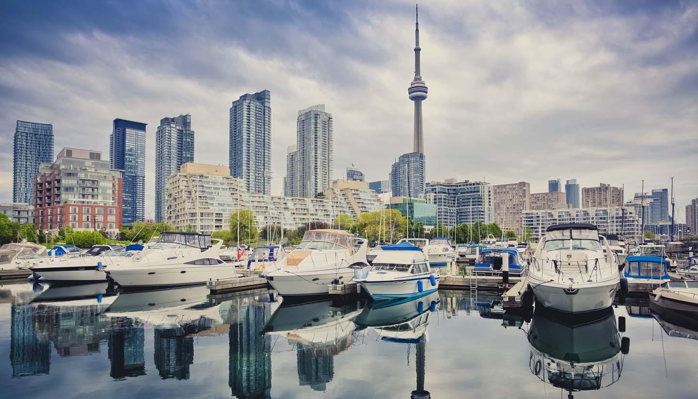 Canadá - Toronto Marina, Canada