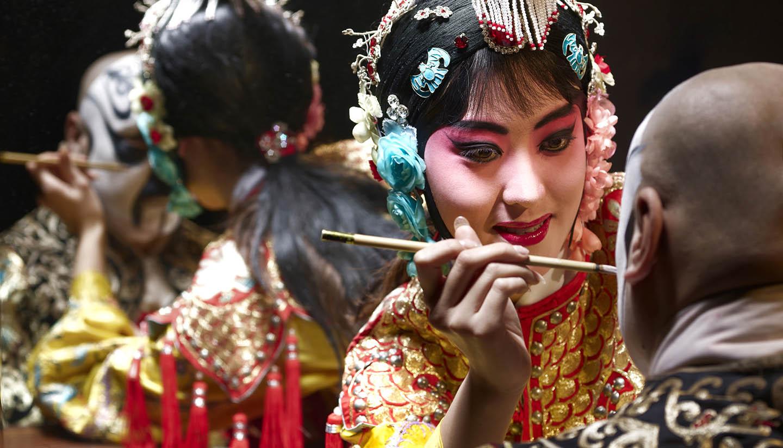 China - Chinese Opera Singer, China