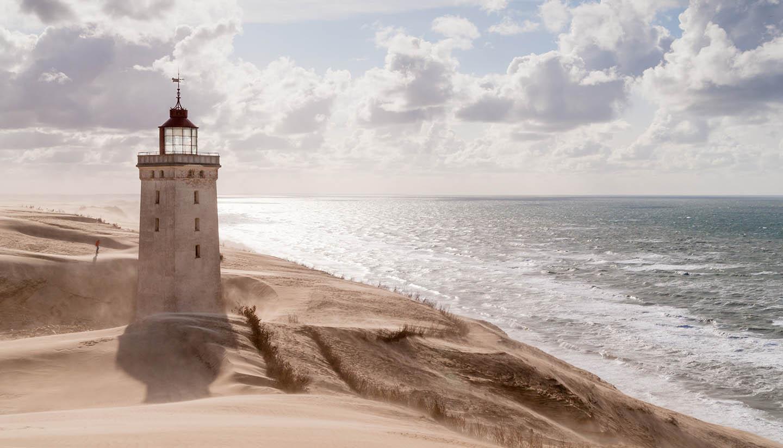 Dinamarca - Rubjerg Knude Lighthouse, Denmark