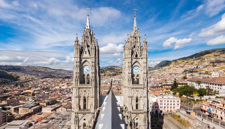 Ecuador - Basilica Quito, Ecuador