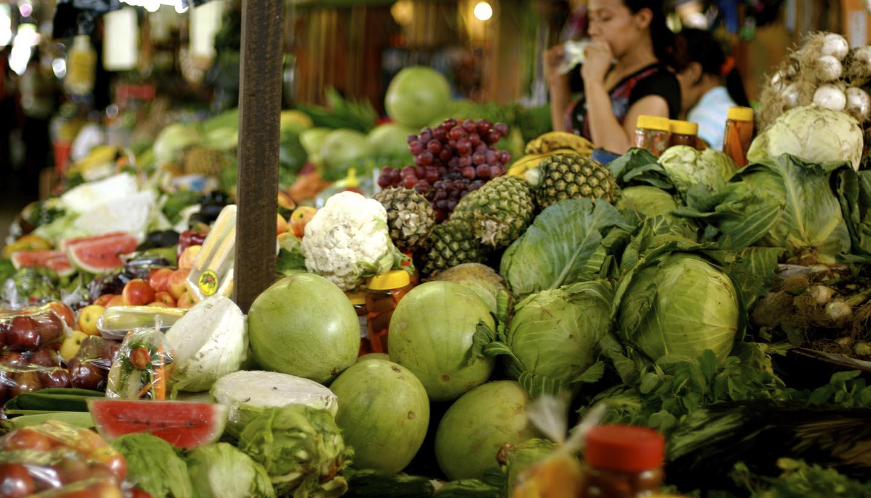 El Salvador - Street Market, El Salvadorian