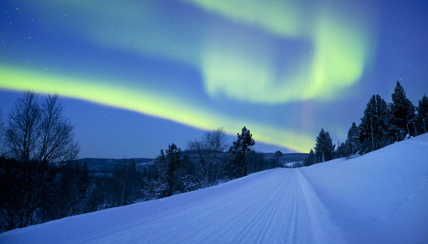 Finlandia - Aurora Borealis (Northern Lights) in Lapland, Finland