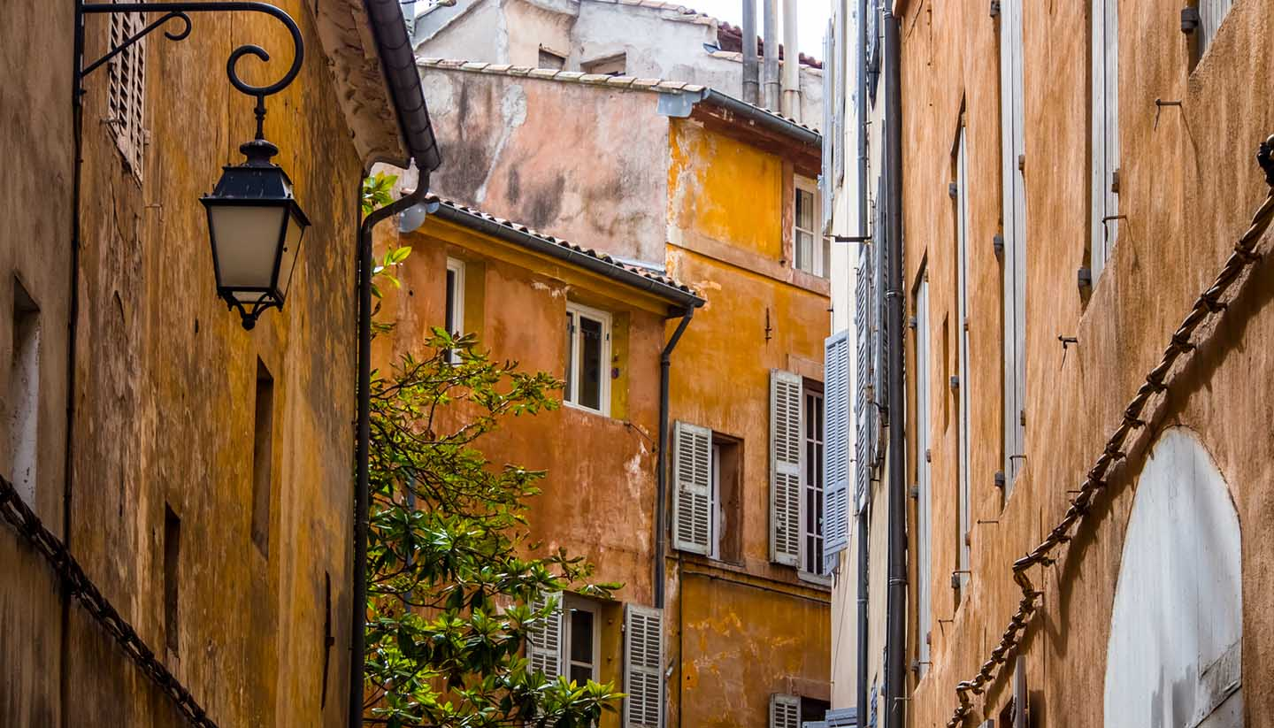 Francia - Old Town in Aix, France