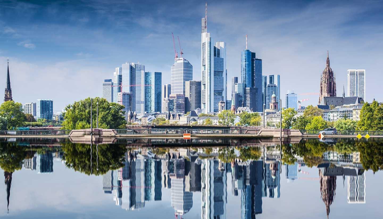 Fráncfort - Skyline of Frankfurt, Germany