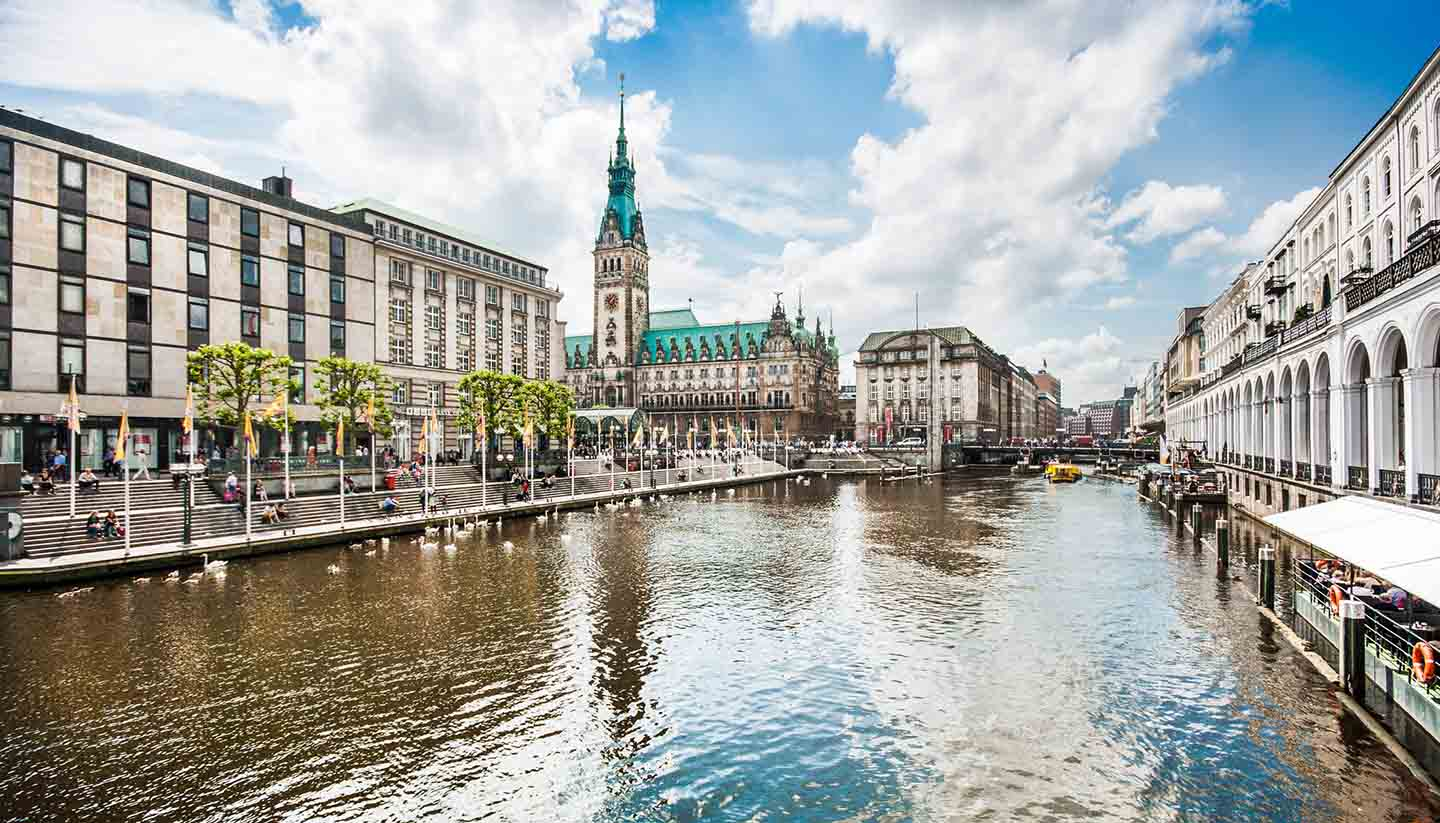Hamburgo - Hamburg City Center, Germany.
