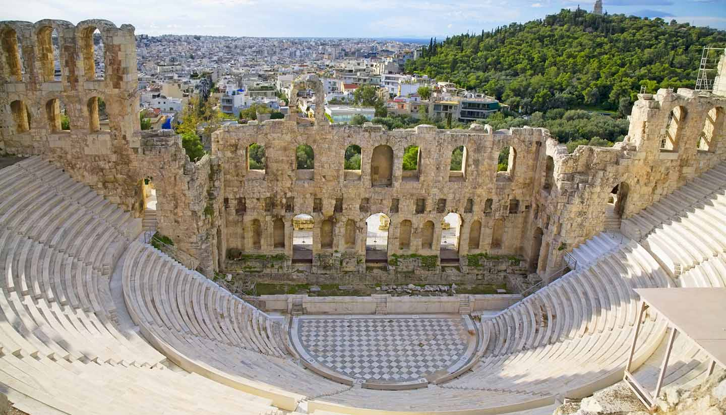 Grecia - Odeon of Herodes Atticus, Greece