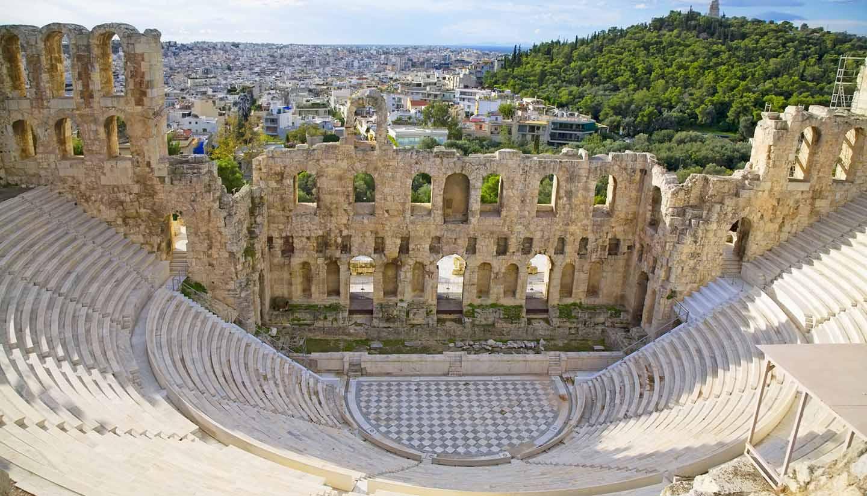 Grecia - Odeon of Herodes Atticus, Greece