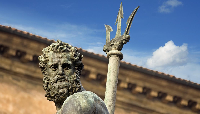 Italia - Neptune's Portrait - bologna, Italy
