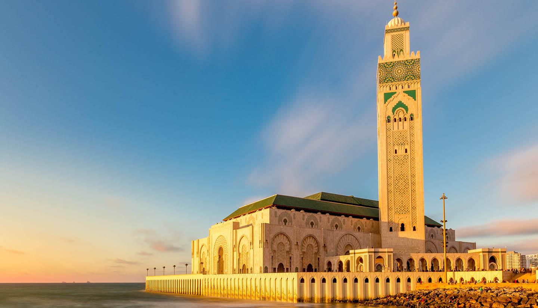 Marruecos - Hassan II Mosque, Casablanca, Morocco