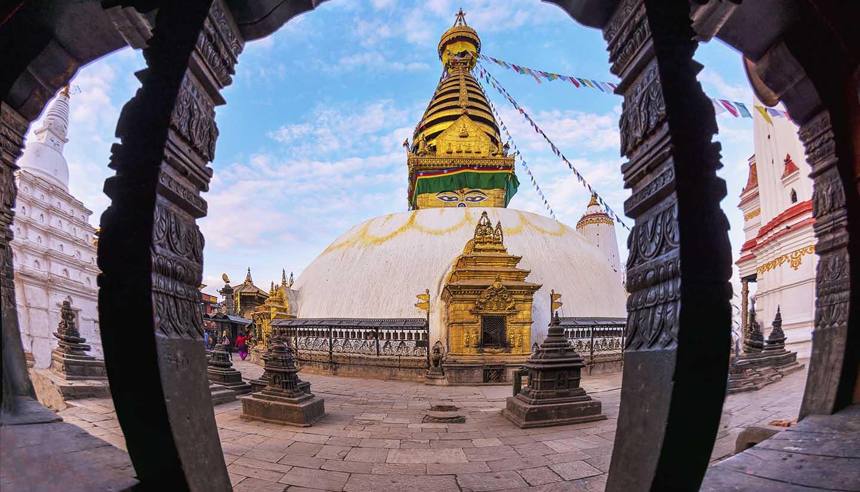 Nepal - Swayambhunath Stupa Kathmandu, Nepal