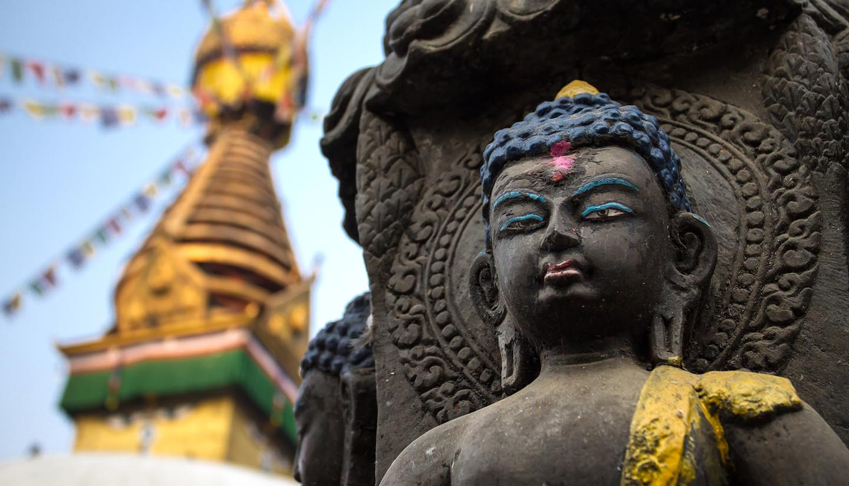 Nepal - Buddha Statue in Kathmandu, Nepal