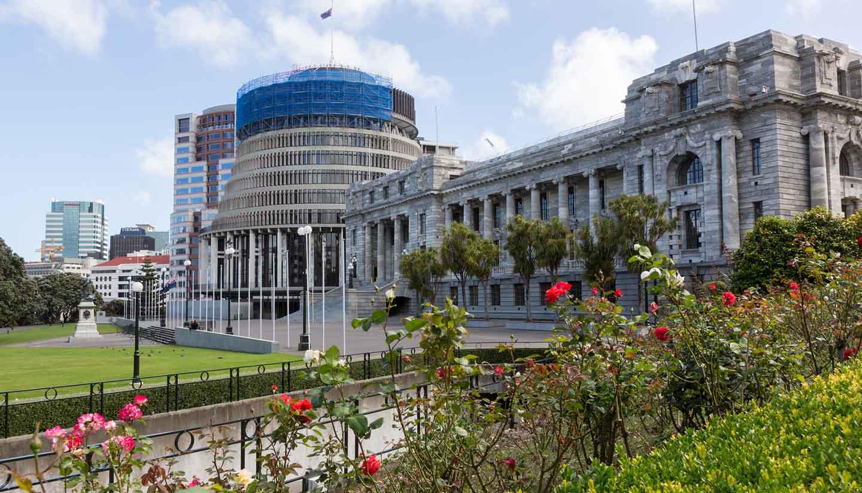 Nueva Zelanda - Wellington Parliament, NewZealand