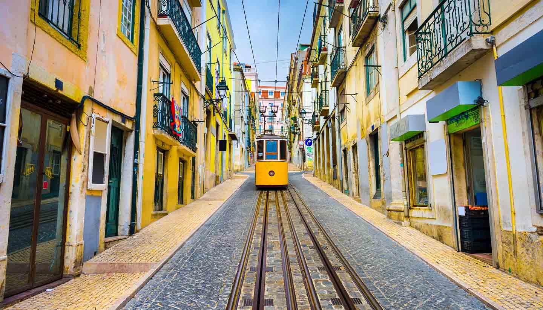Lisboa - Tram, Lisbon, Portugal