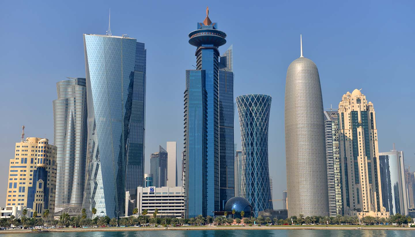 Catar - Doha Skyline, Qatar
