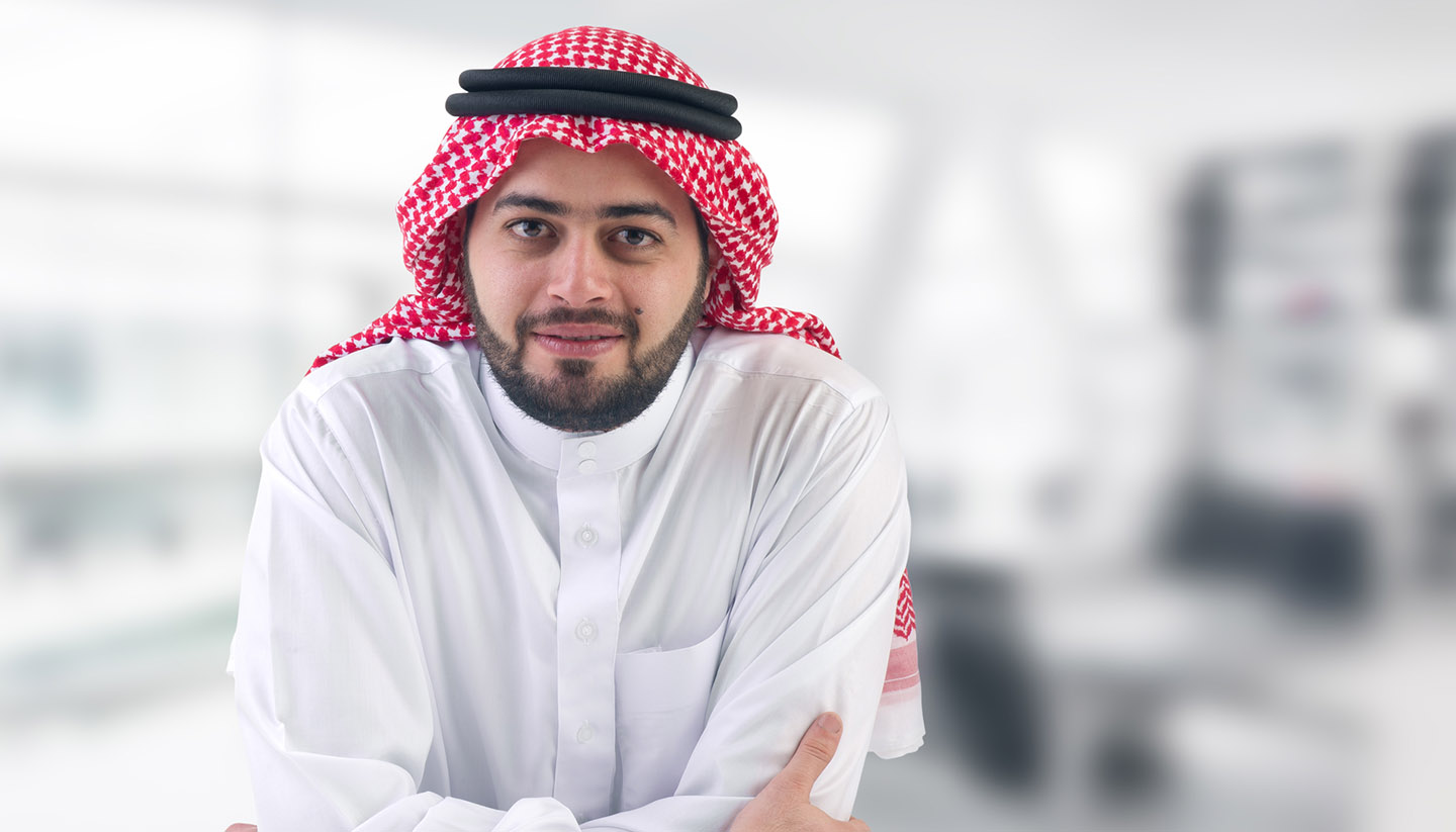 Arabia Saudí - Saudi Business Man