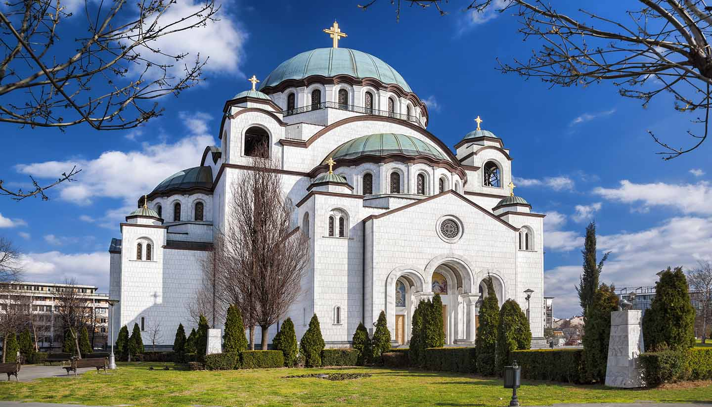 Serbia - St. Sava Cathedral in Belgrade, Serbia