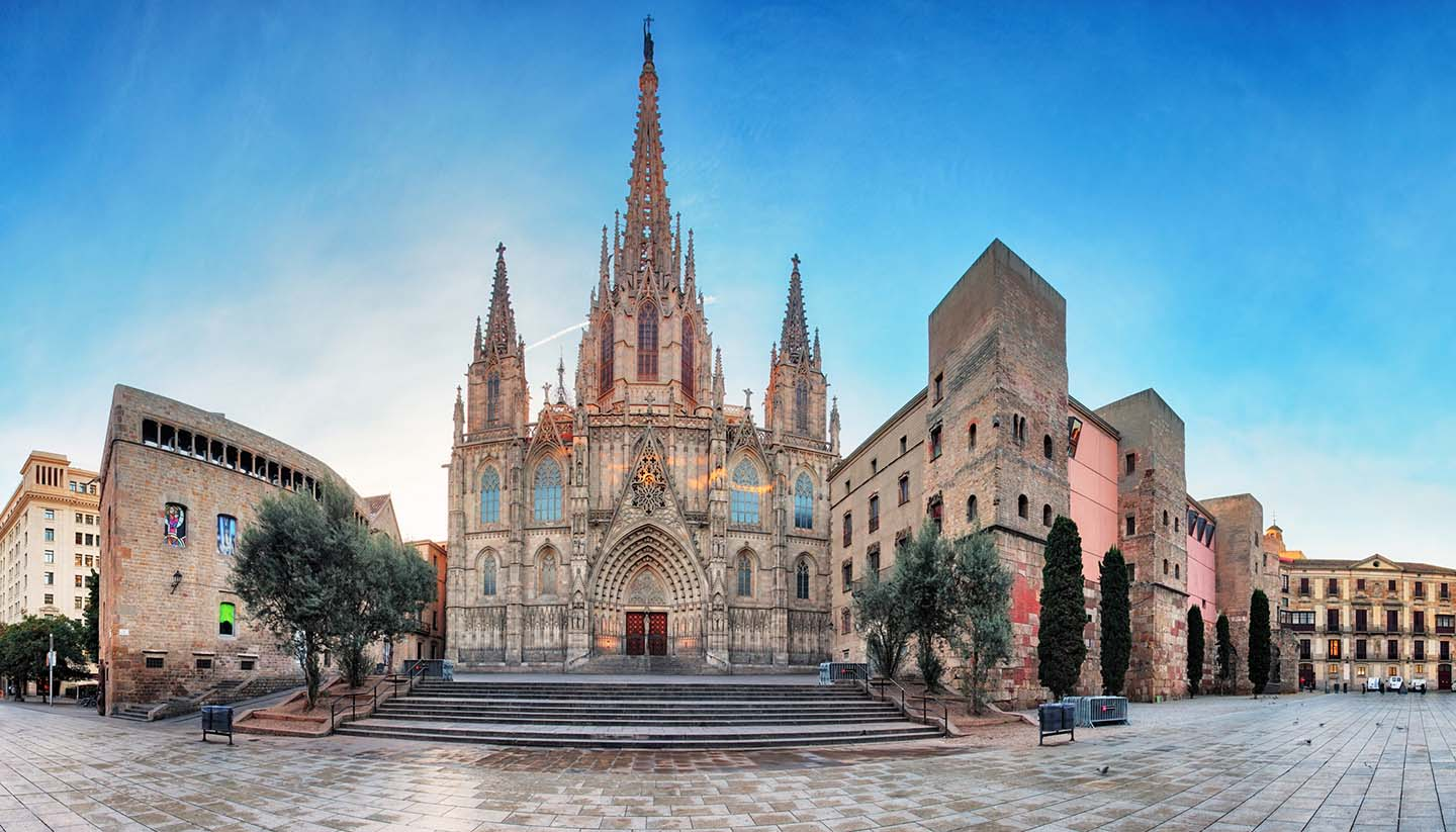 Barcelona - Barcelona Cathedral. Spain
