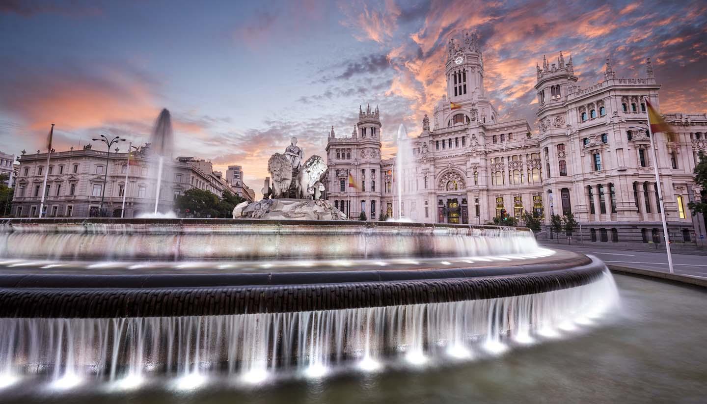 Madrid - Cybele Plaza of Madrid, Spain