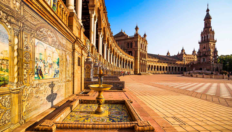 Sevilla - Seville Spanish Square, Spain