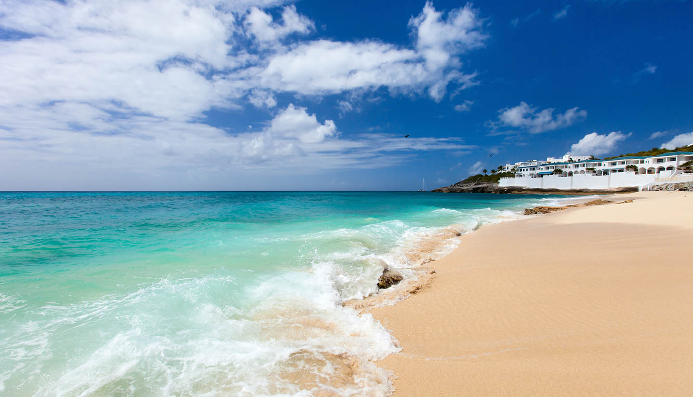 Sint Maarten - Cupecoy beach, St Maarten