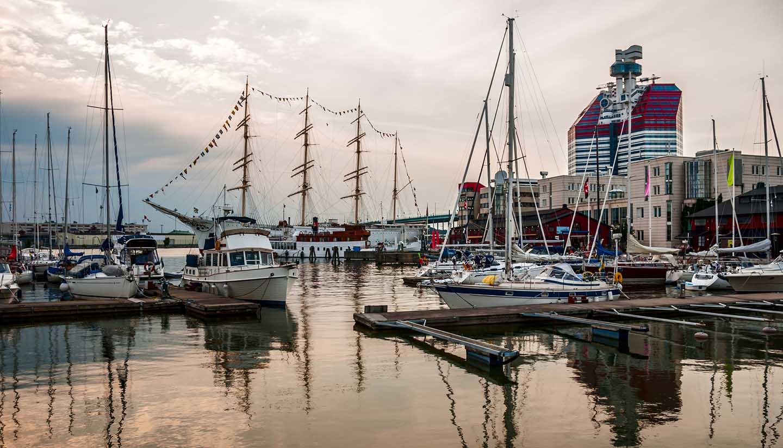 Suecia - The City Harbor Gothenburg, Sweden