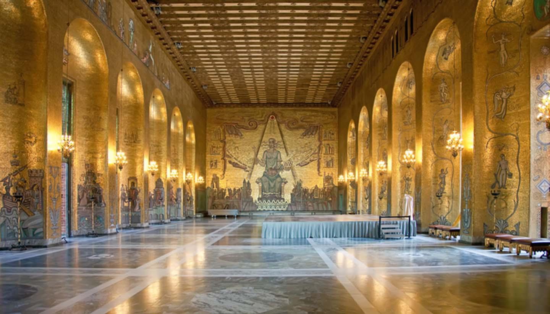 Suecia - Town hall. Stockholm, Sweden