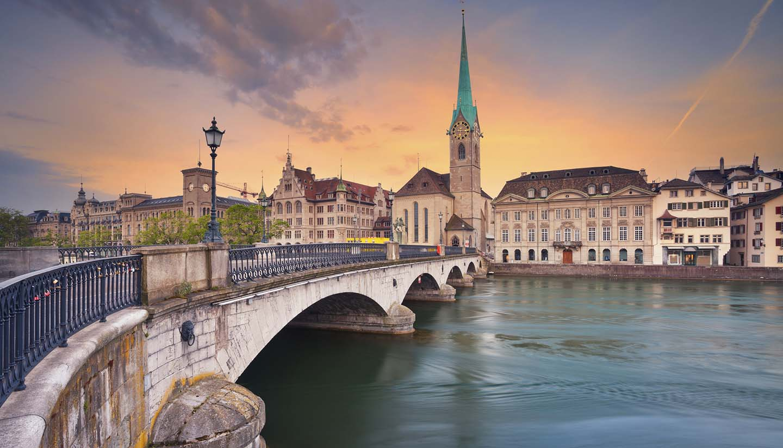 Zúrich - Zurich Cityscape, Switzerland