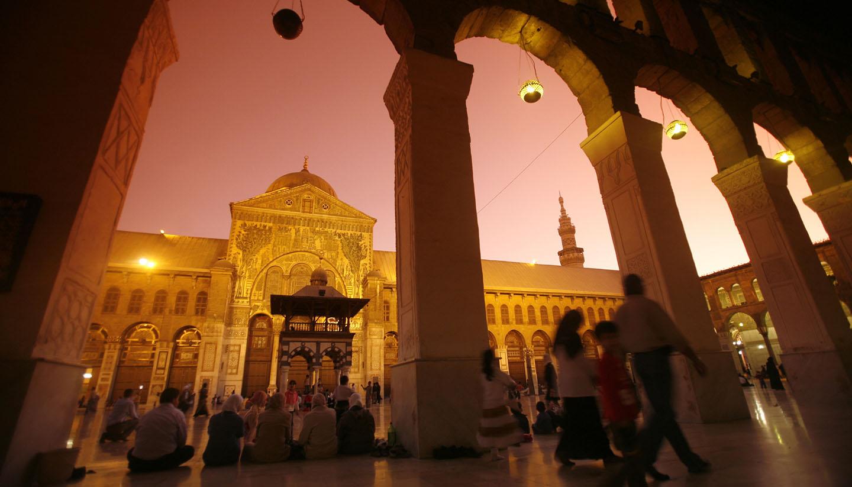 Siria - Damascus Mosque, Syria