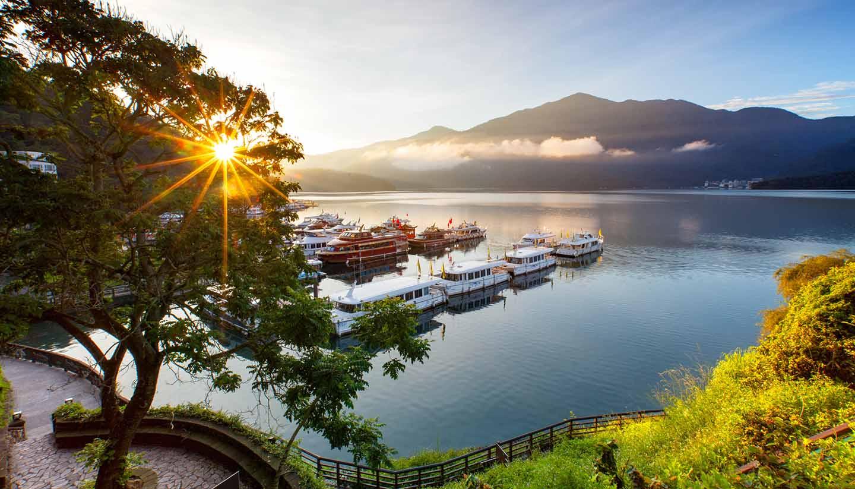 Taiwán - Sun Moon Lake, Taiwan