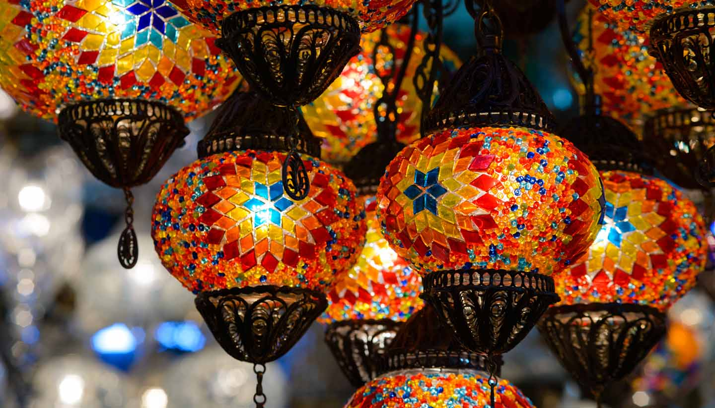 Turquía - Traditional Turkish Mosaic Lanterns