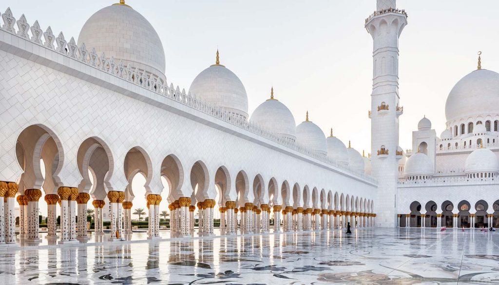Emiratos Arabes Unidos - Sheikh Zayed Mosque, Abu Dhabi, UAE.